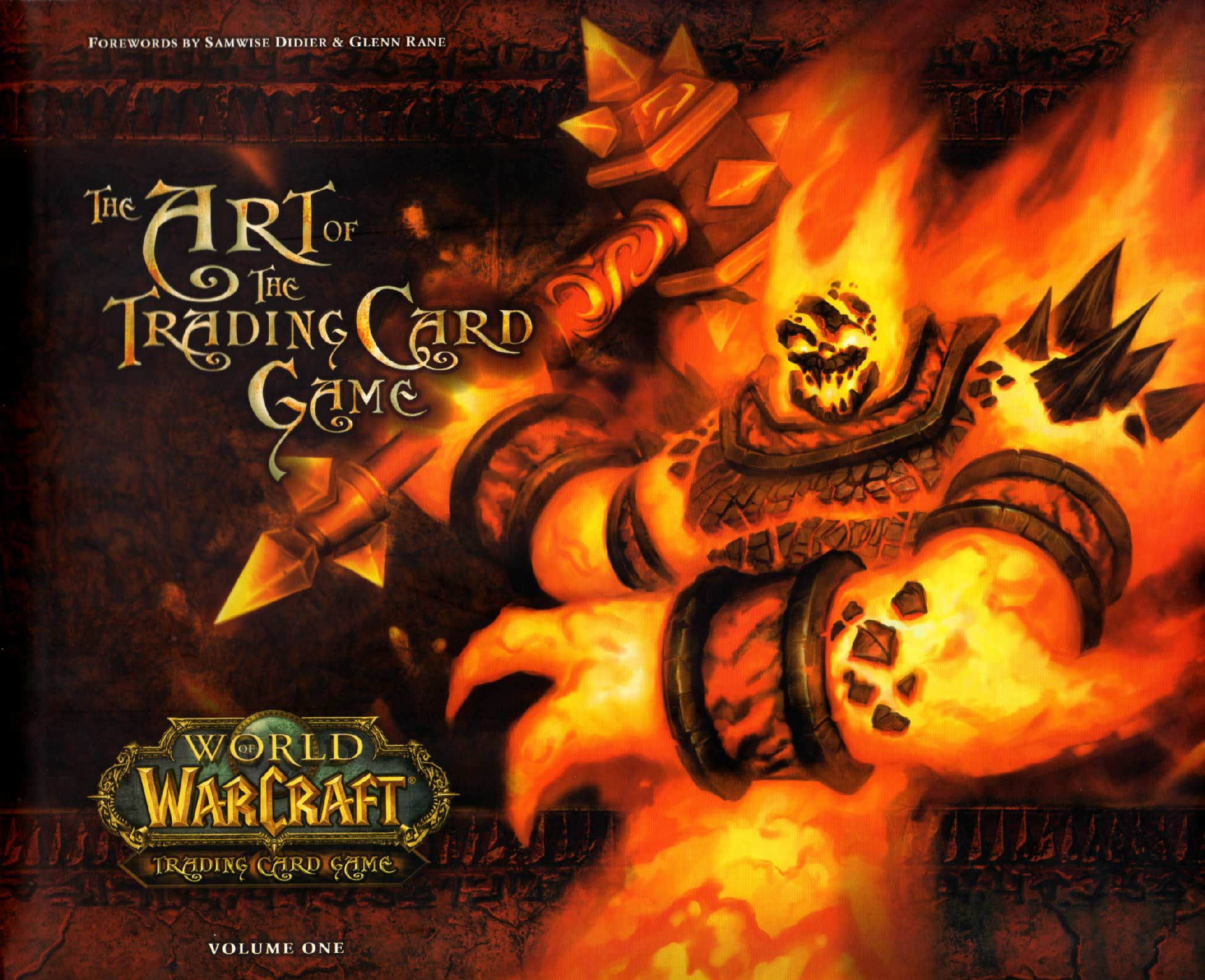 World of Warcraft : The Art of the Trading Card Game (Art book) - couverture