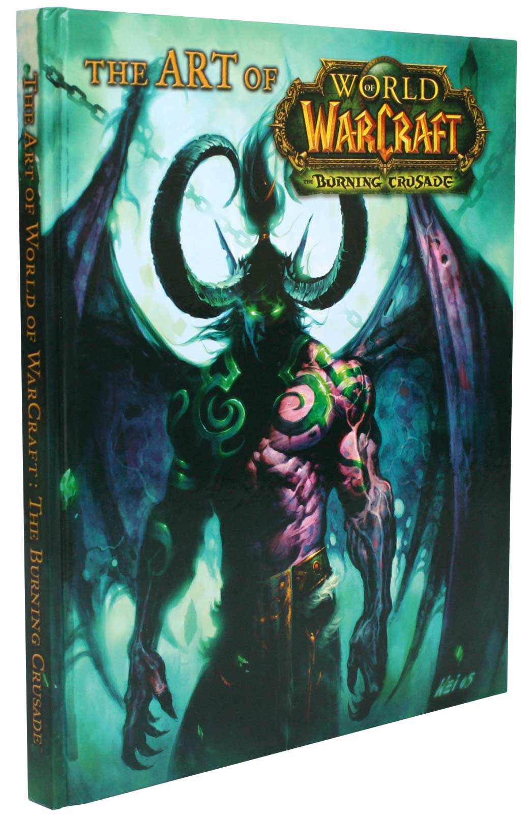 Couverture de l&#039;Art book : The Art of the Burning Crusade (World of Warcraft)