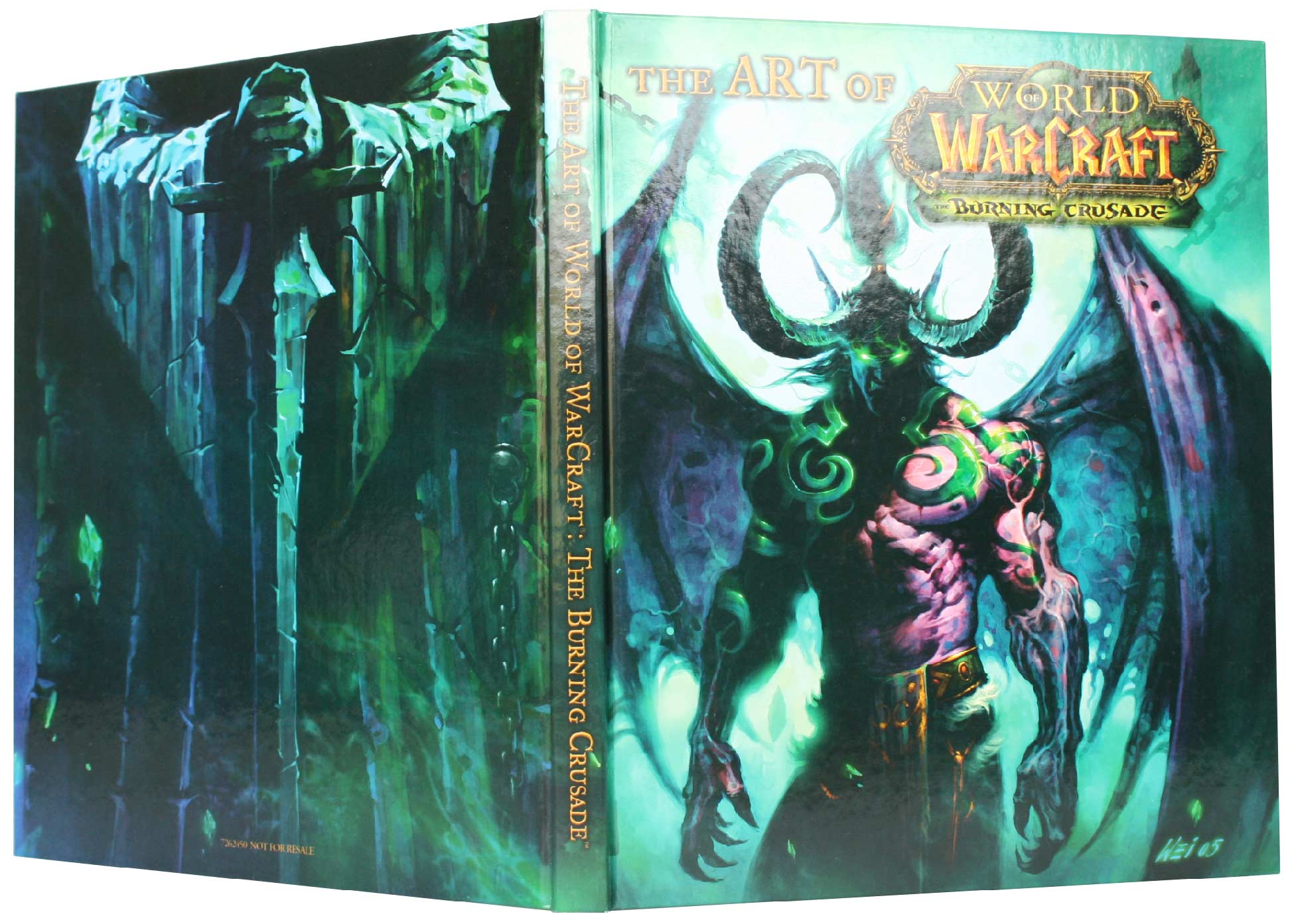 Couverture de l'Art book : The Art of the Burning Crusade (World of Warcraft)