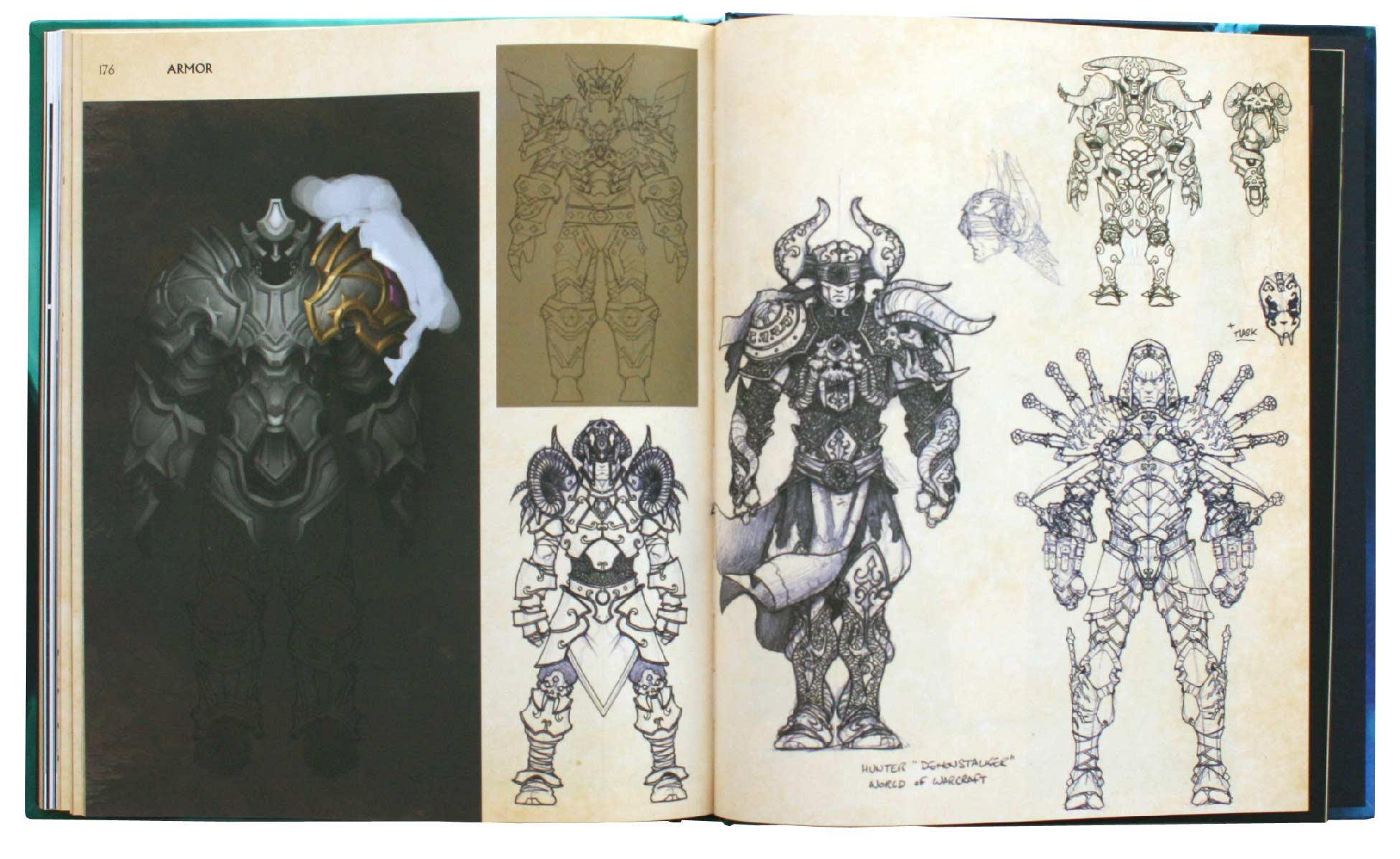 Page 176 et 177 de l'Art book : The Art of the Burning Crusade (World of Warcraft)