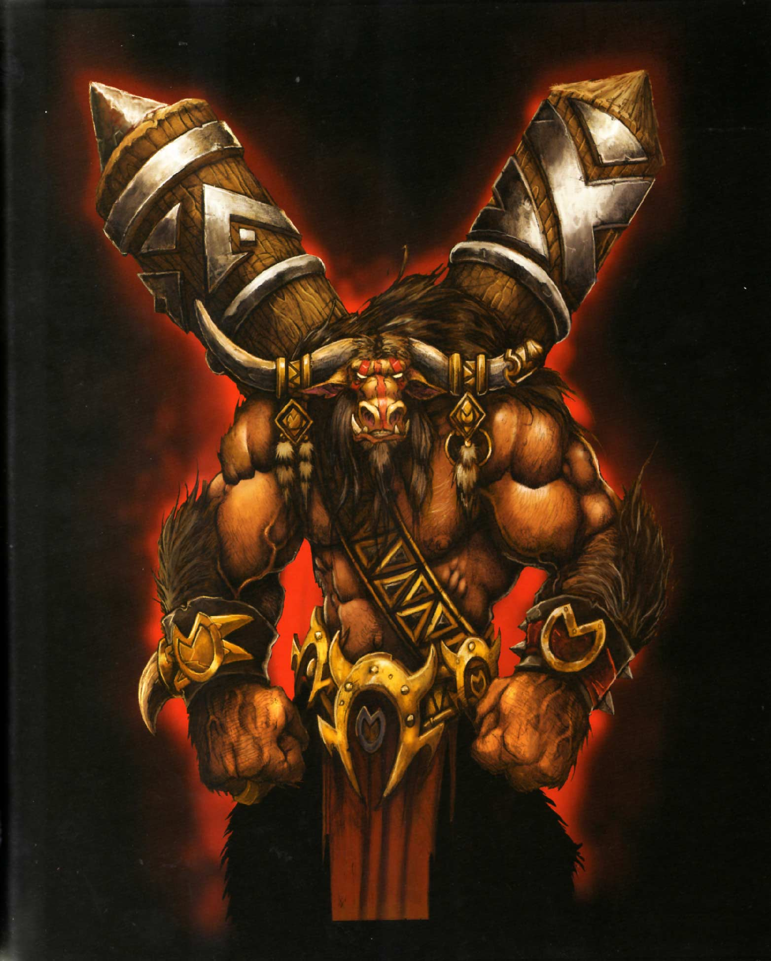 Page 25 de l'Art book : The Art of the Burning Crusade (World of Warcraft)