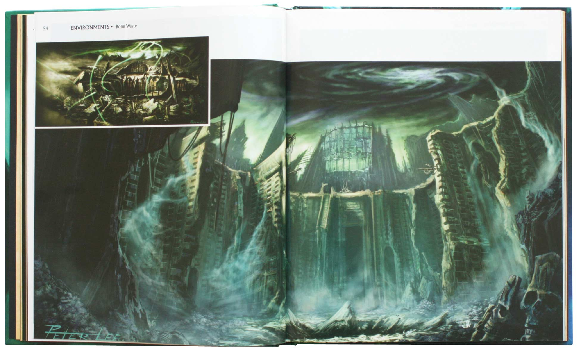 Page 54 et 55 de l'Art book : The Art of the Burning Crusade (World of Warcraft)