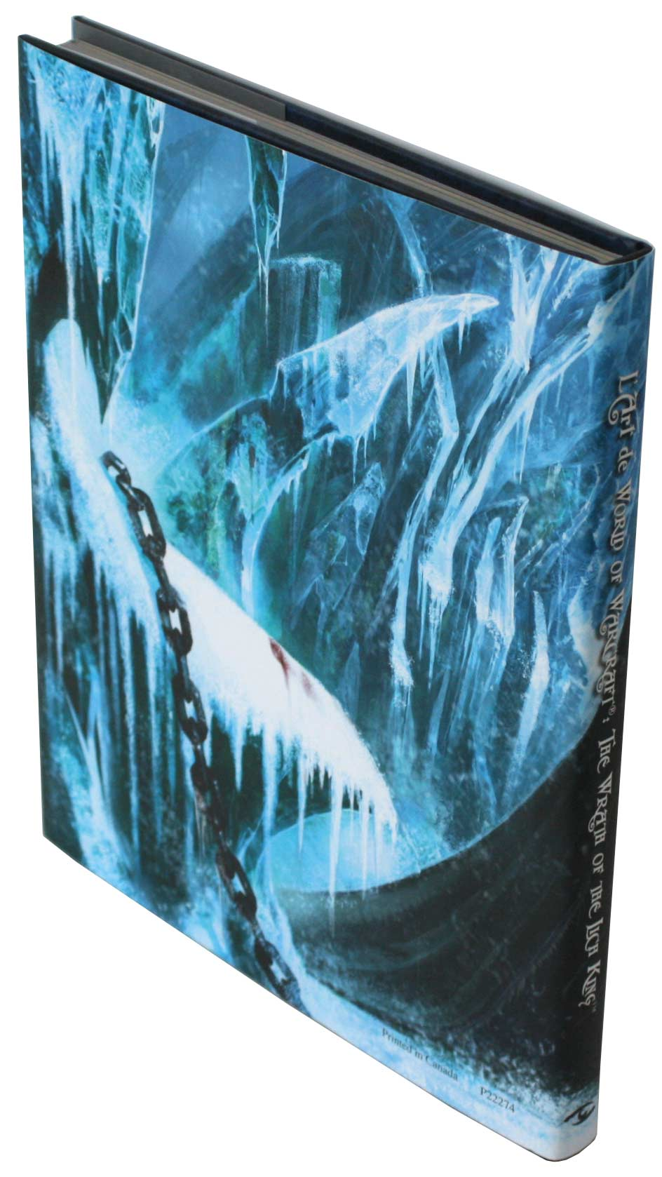 Dos de la couverture de l'art book The Art of Warth of the Lich King (World of Warcraft)