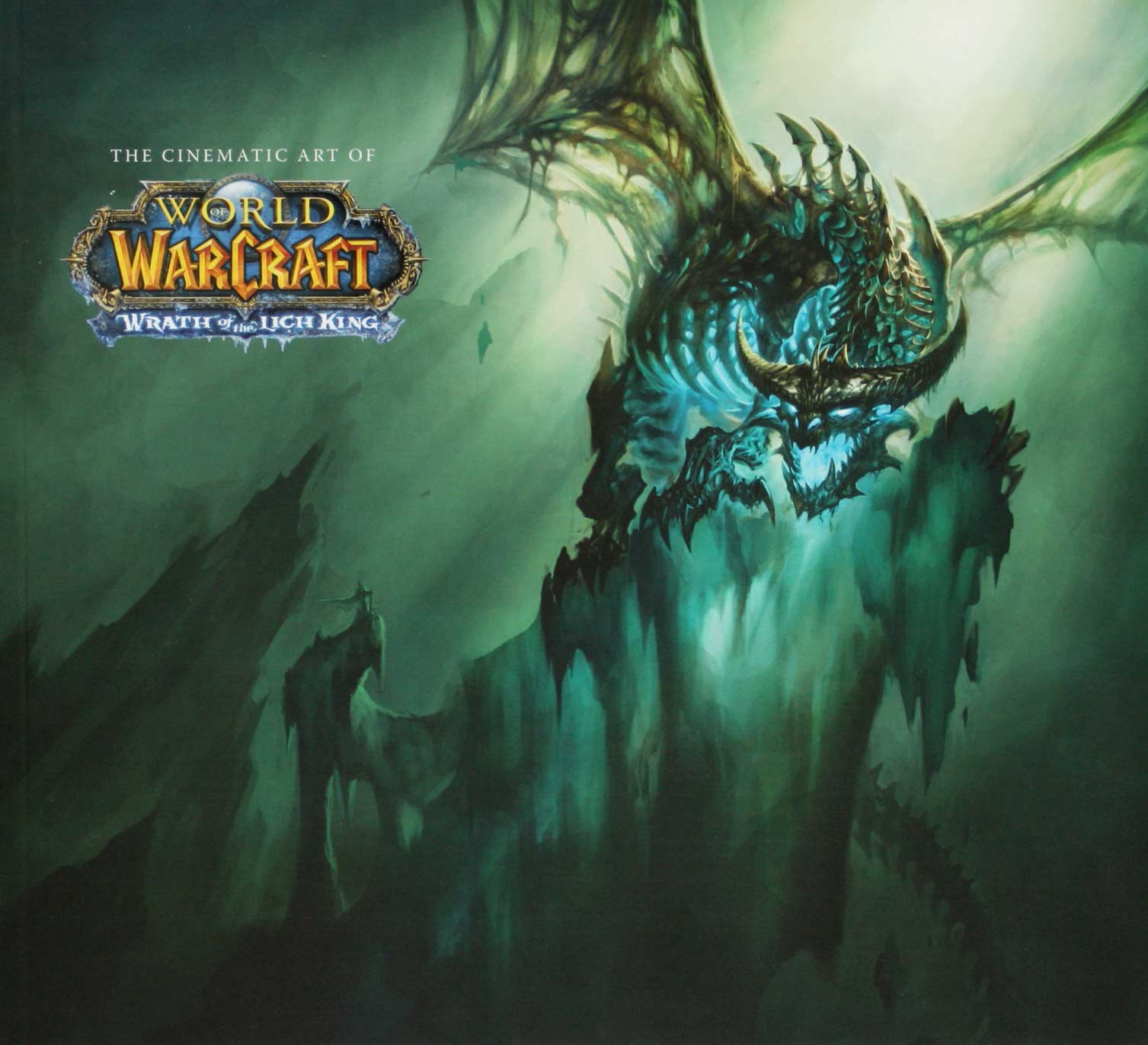 Couverture de l'art book The Cinematic Art of Warth of the Lich King (World of Warcraft)