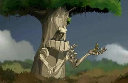 Amalia arrive à apaiser le Chêne Mou