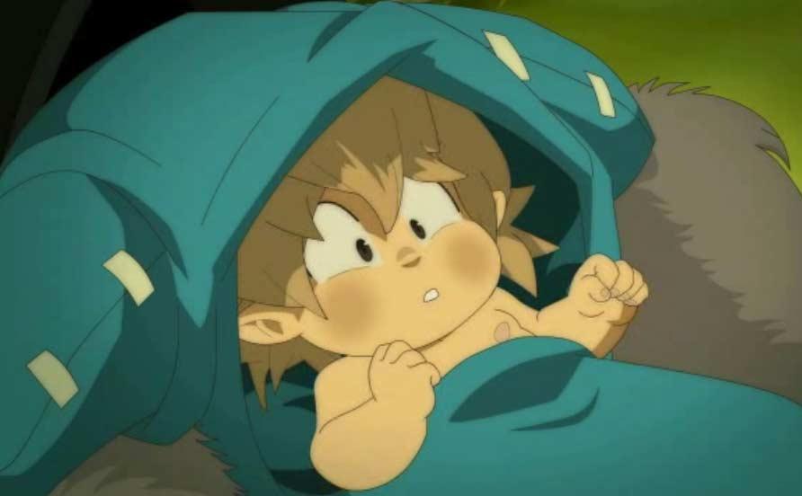 Alibert trouve Yugo, un bébé éliatrope