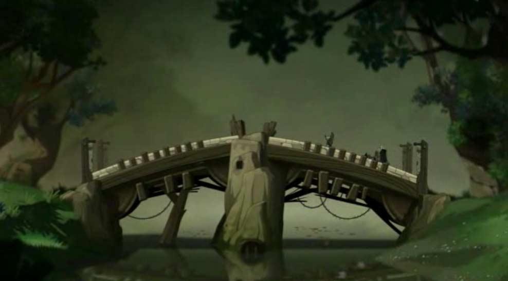 Cette scène est inspirée de Baby Cart (ou Lone Wolf and Club)