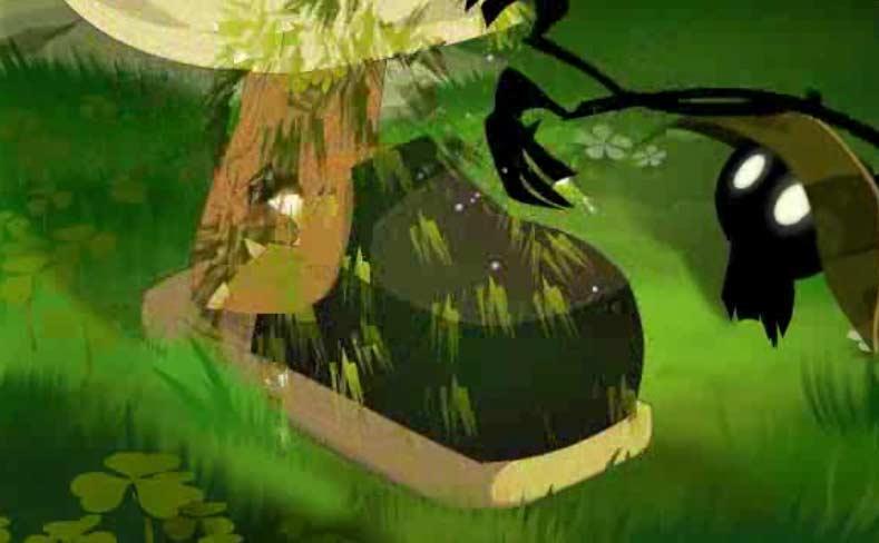Les polters peuvent transformer les gens en végétaux, mais aussi inverser le processus