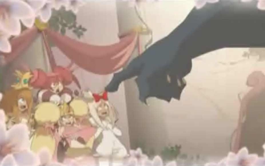 Le dieu Osamodas jette un maléfice sur les princesses prétentieuses