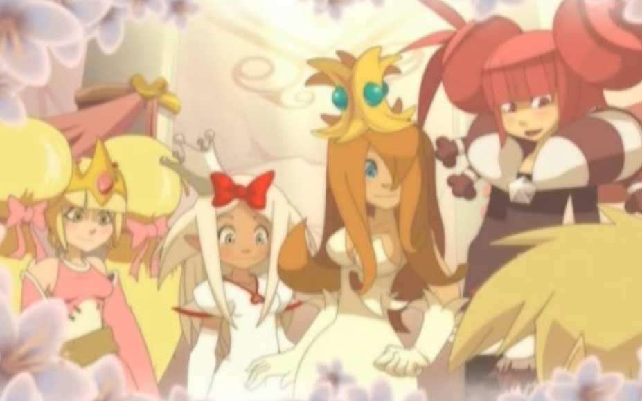 Autrefois les 4 princesses étaient belles et faisaient des castings de princes