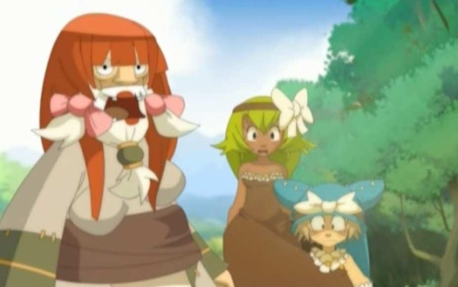 Yugo et Amalia jouent les soeurs siamoises pendant que Ruel se déguise en princesse
