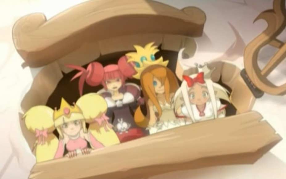 Les princesses sont redevenues belles et recommencent à faire des castings de princes