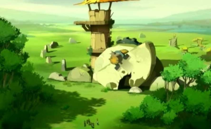 Le village de Mork des flaqueux