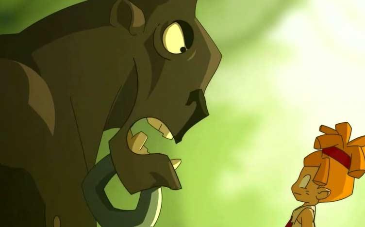 Le design des Taures est directement récupéré du court métrage Goultard le Barbare