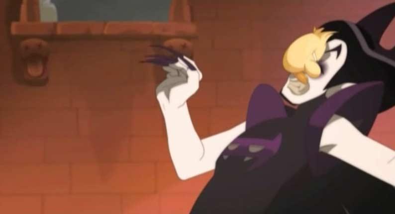 Az attaque au visage Vampyro