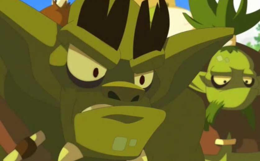 Les bwoks sont tirés de l'univers de Dofus