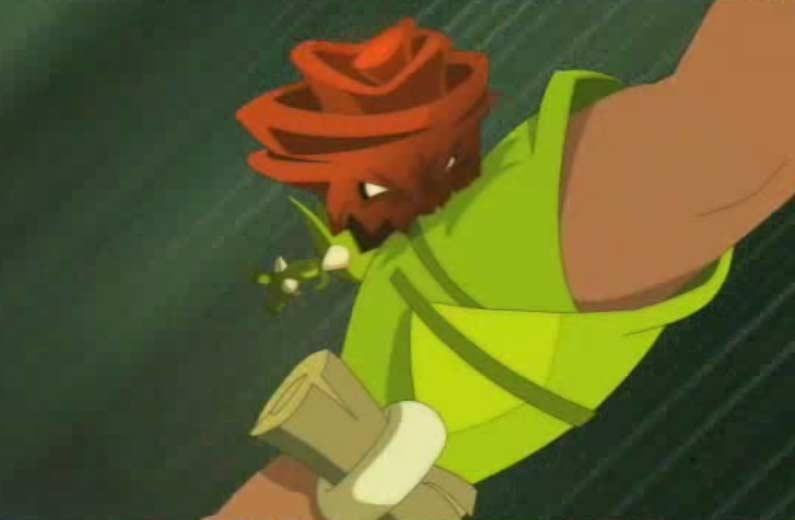 Une Rose Maléfique Rouge a mordu Amalia