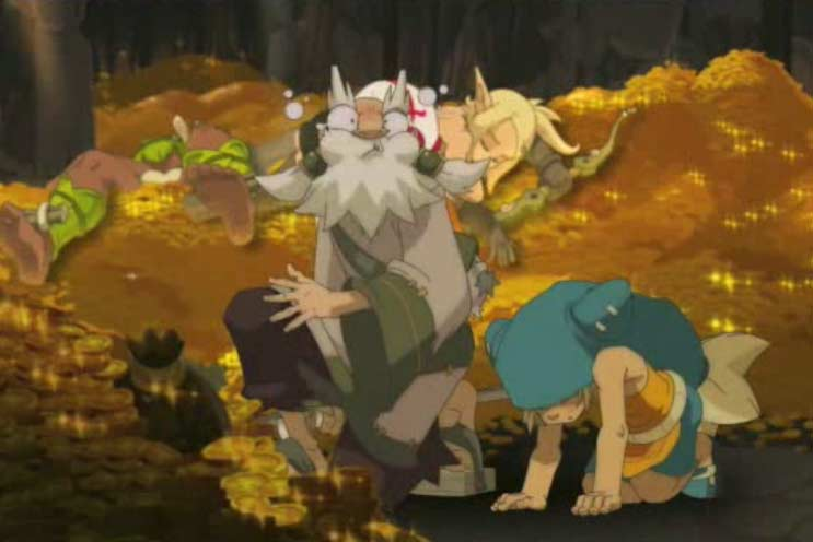 Lorsque Yugo emmène quelqu'un avec lui dans un portail, il est épuisé et la personne vomit