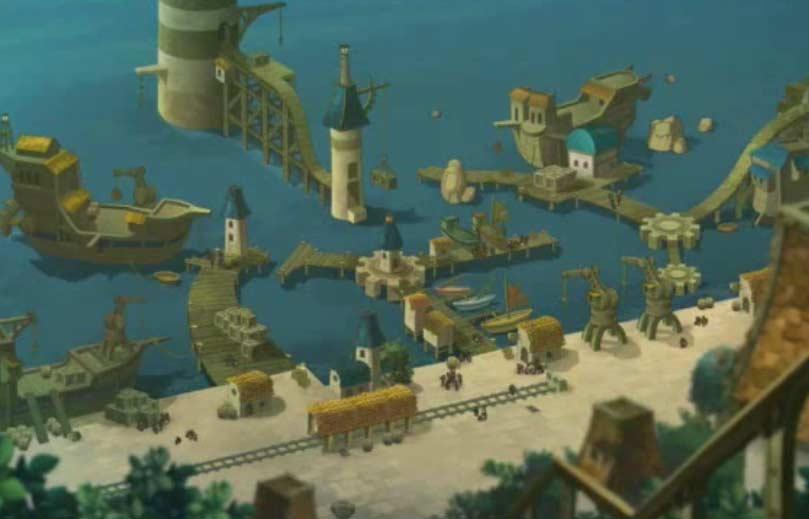 le port de Bonta