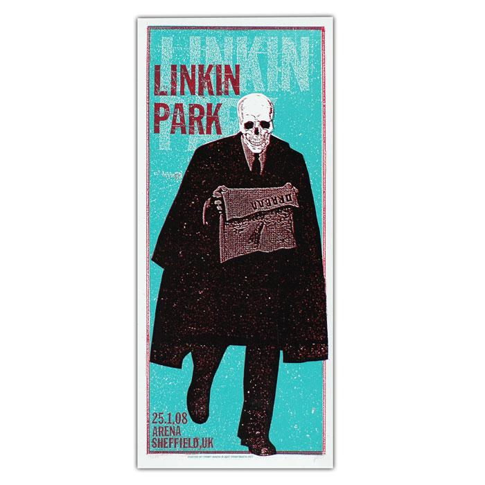 Poster Linkin Park Print Mafia European Poster