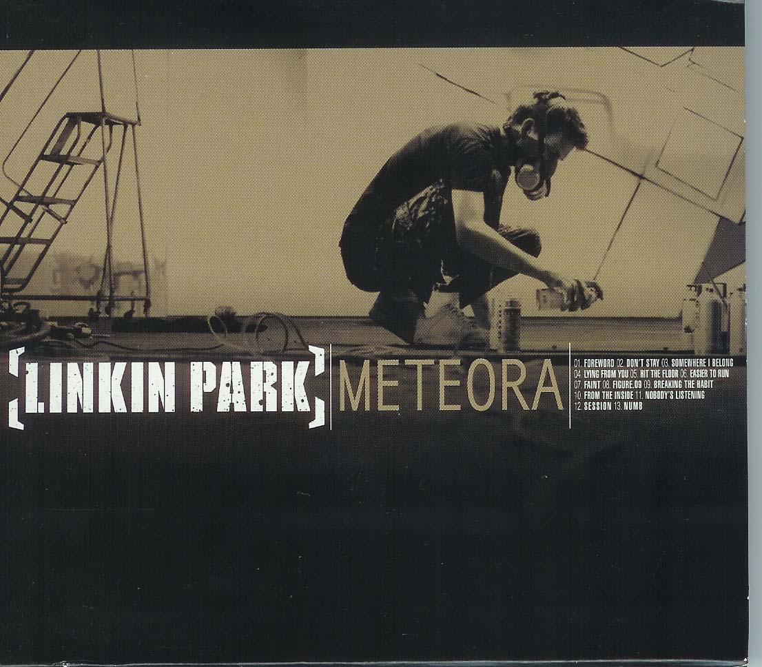 Cover de l&#039;album Meteora