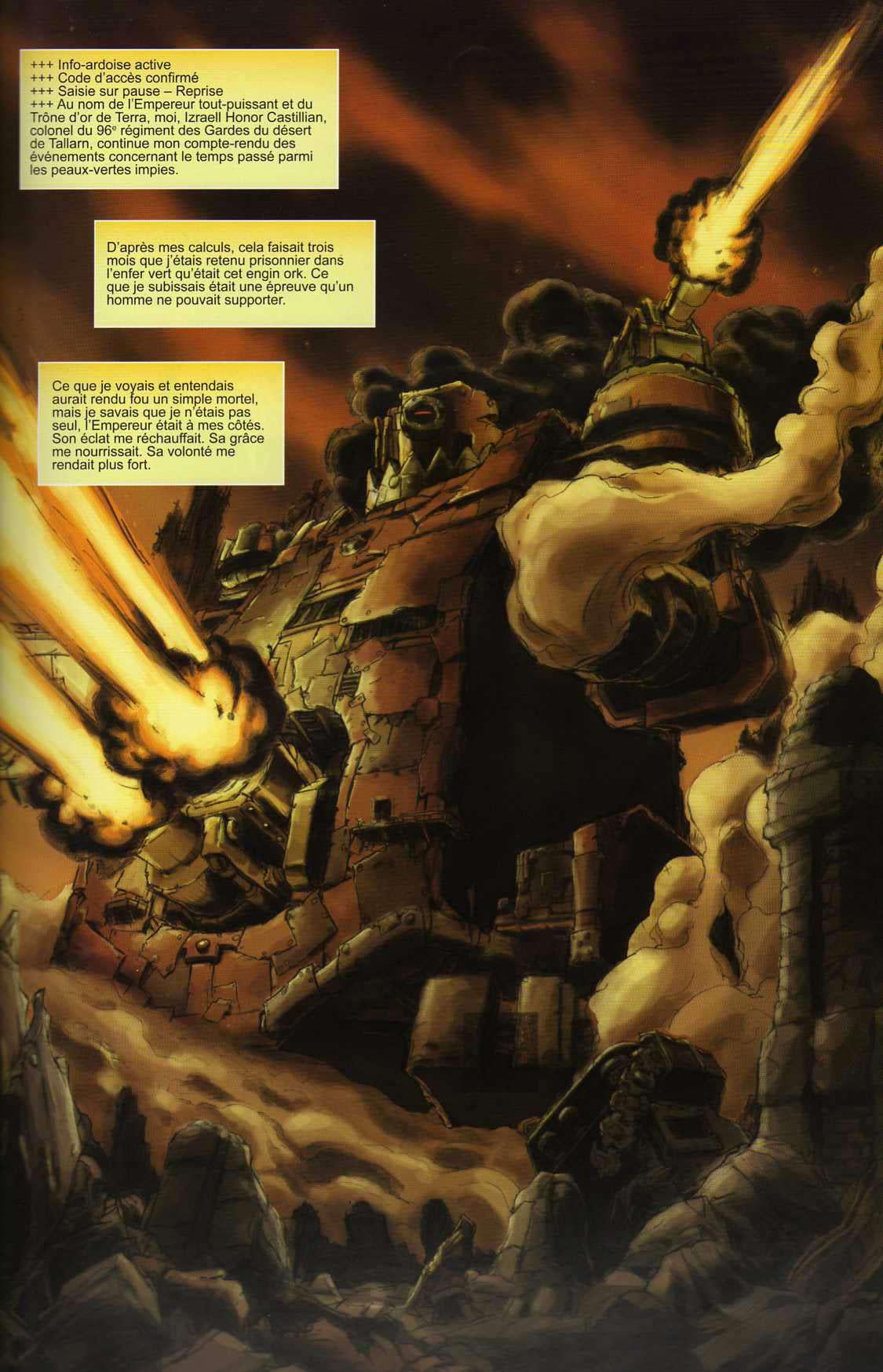 T4 : Le clan des Orks - Warhammer 40.000 (page 1)