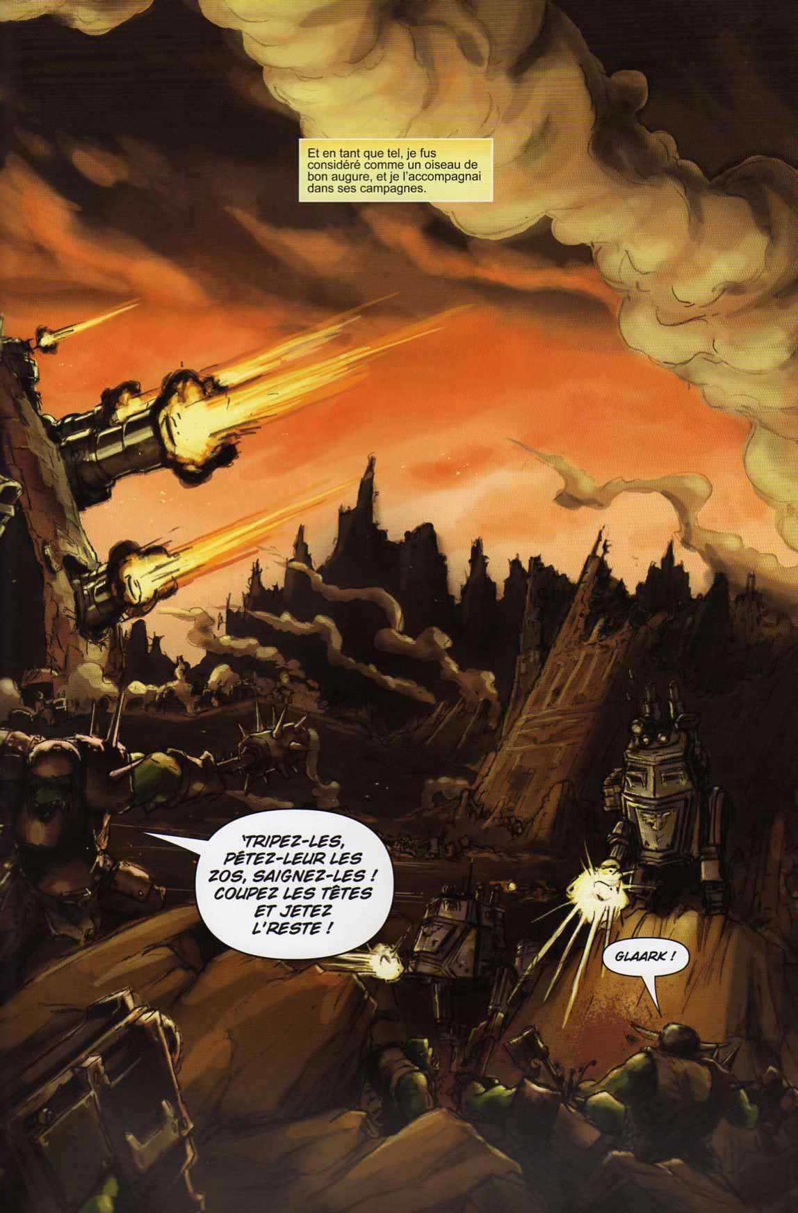 T4 : Le clan des Orks - Warhammer 40.000 (page 3)