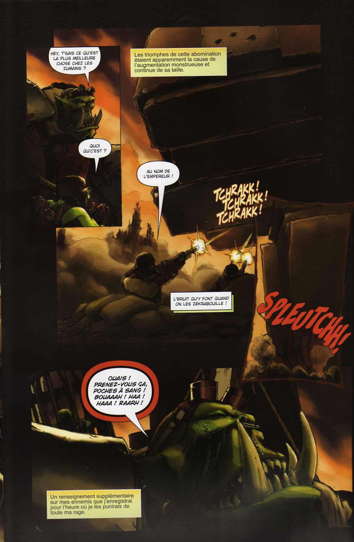 T4 : Le clan des Orks - Warhammer 40.000 (page 4)