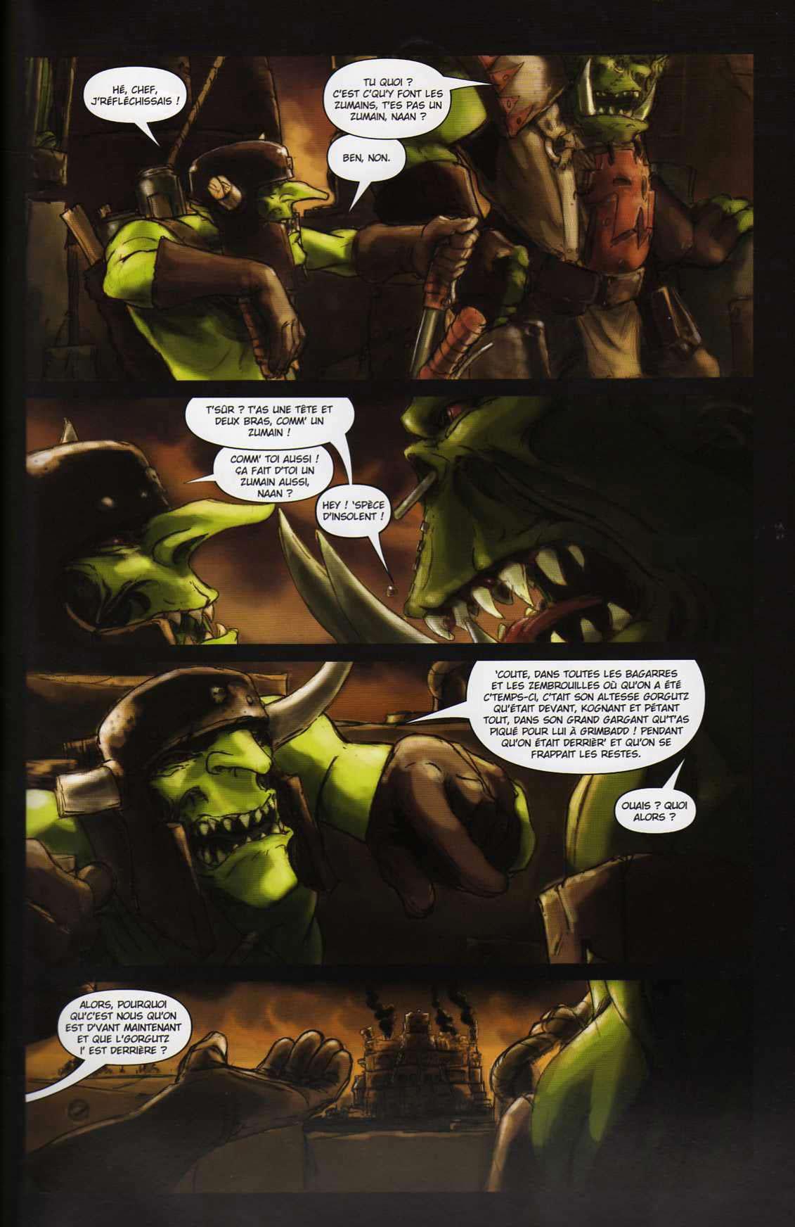 T4 : Le clan des Orks - Warhammer 40.000 (page 5)