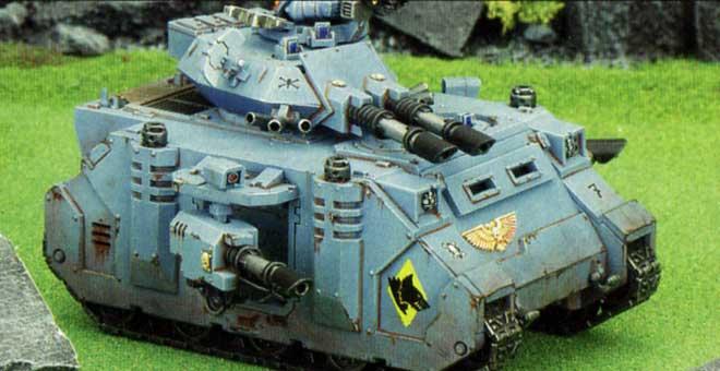 Tank Predator Anihilator (Space Marine - Warhammer 40.000)