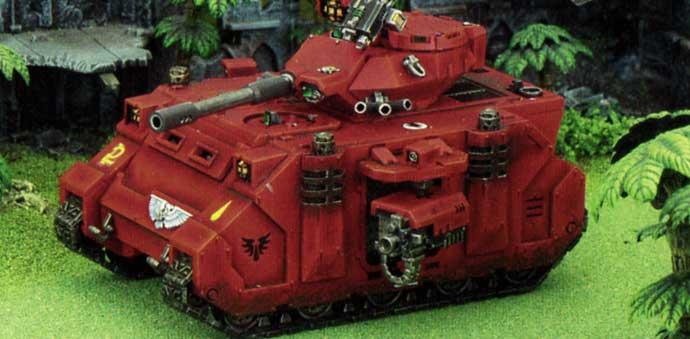 Tank Predator Anihilator Destructor (Space Marine - Warhammer 40.000)