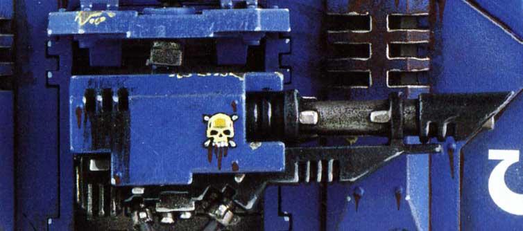 Tank Predator canon latéral (Space Marine - Warhammer 40.000)