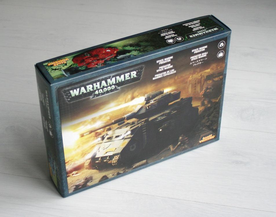 boîte Tank Predator (Space Marine - Warhammer 40.000)