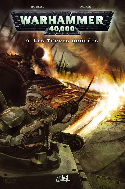 T6 : Les terres brûlées - Warhammer 40.000 couverture