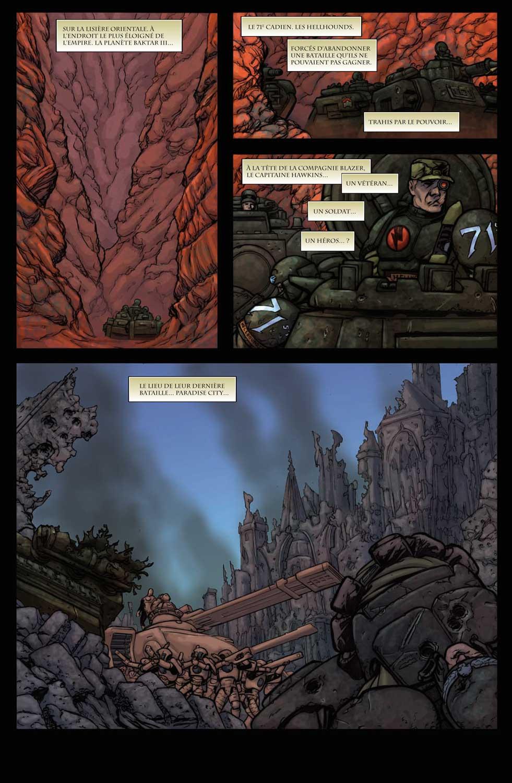 T6 : Les terres brûlées - Warhammer 40.000 page 1