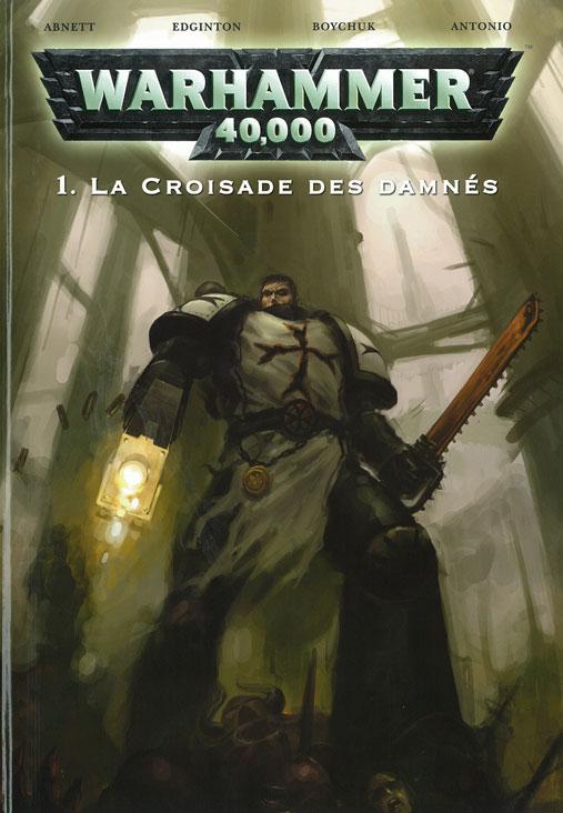 T1 La croisade des damnés WH 40K couv