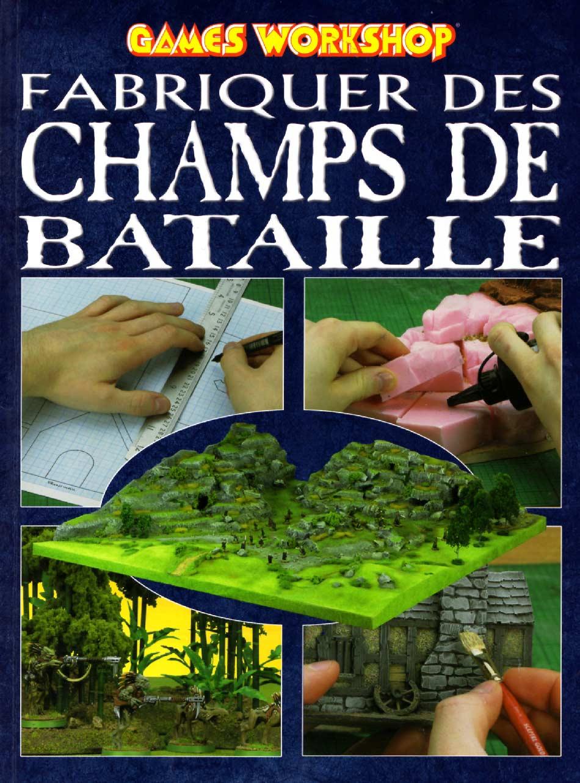 Fabriquer des champs de bataille (Games Workshop) couverture