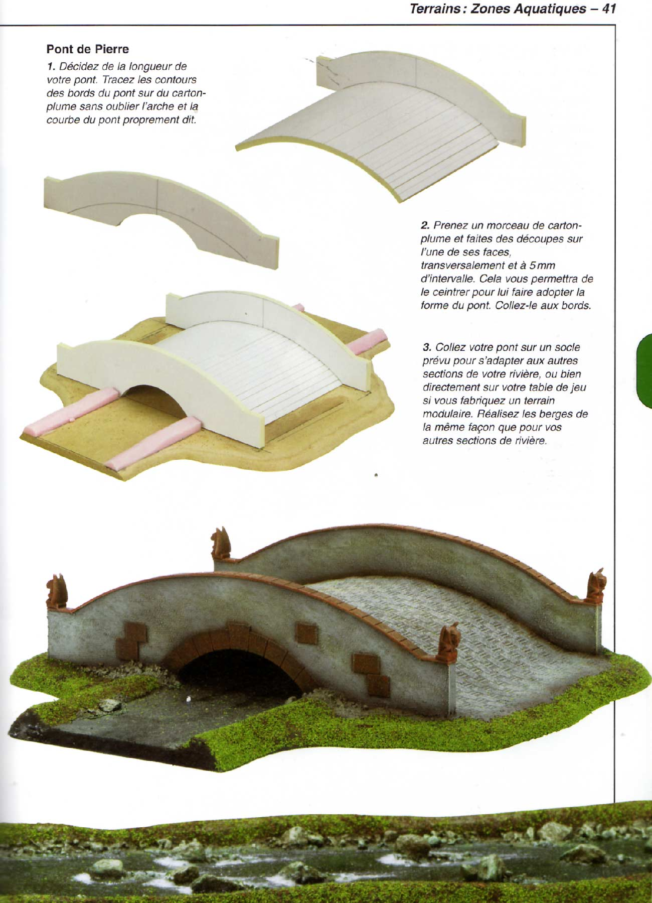Page 41 : Fabriquer des champs de bataille (Games Workshop)
