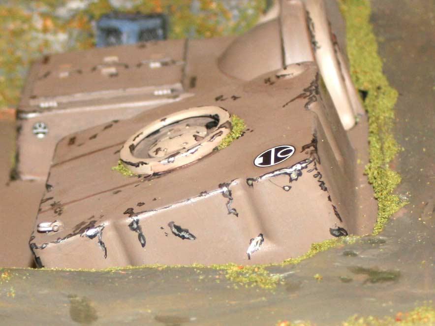 Le générateur se peint comme un tank
