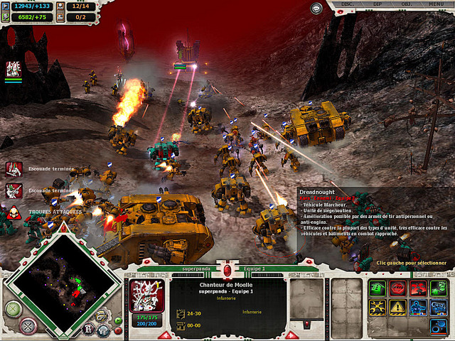 Catpure du jeu Dawn of war