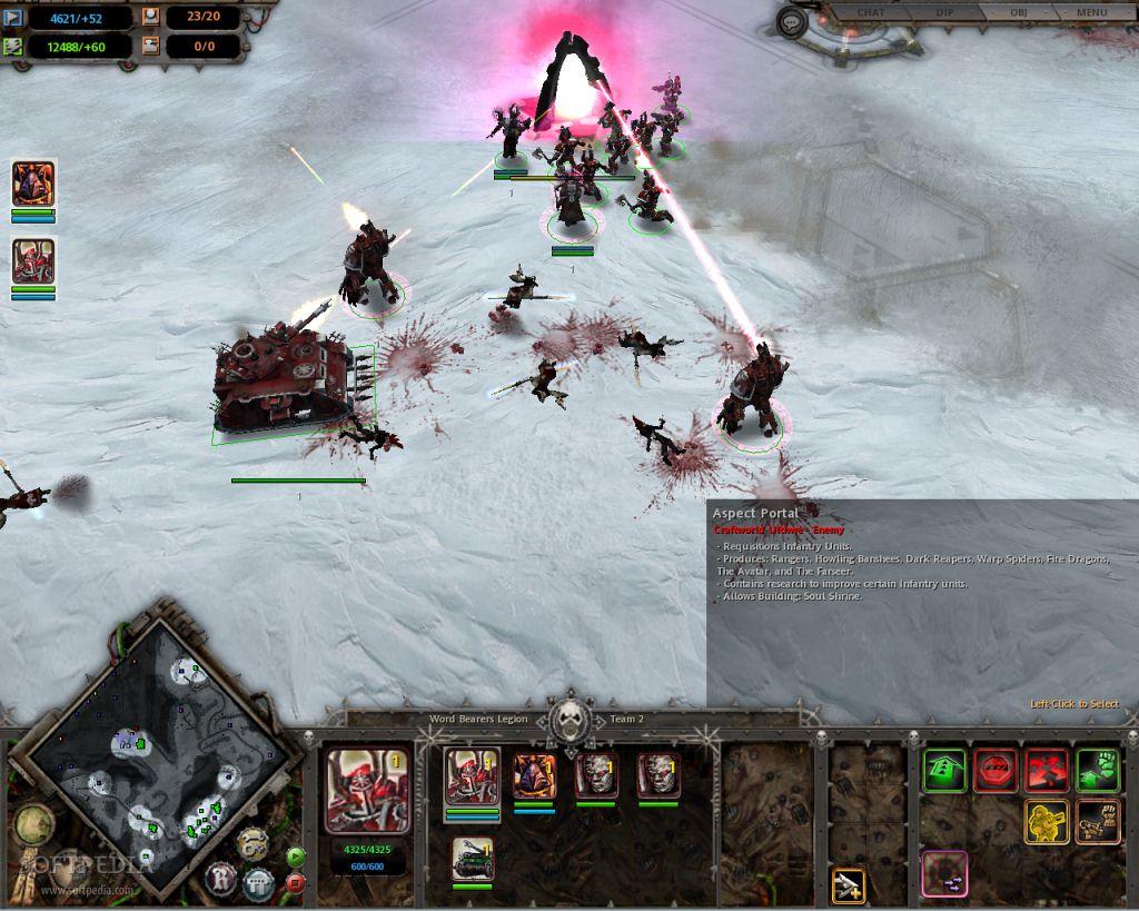 Capture du jeu Dark Crusade