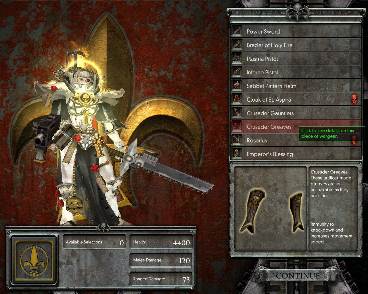 sœur de bataille warhammer