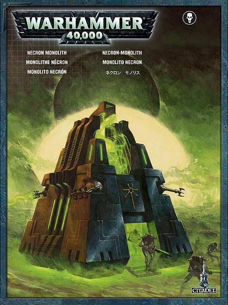 Packaging du Monolithe Nécron (Warhammer 40.000)