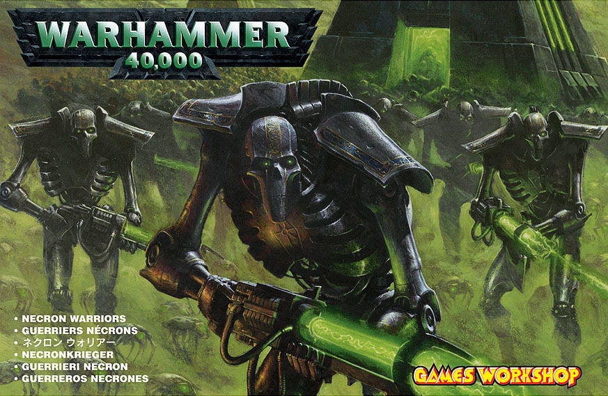 Packaging des Guerrier Nécron (Warhammer 40.000)
