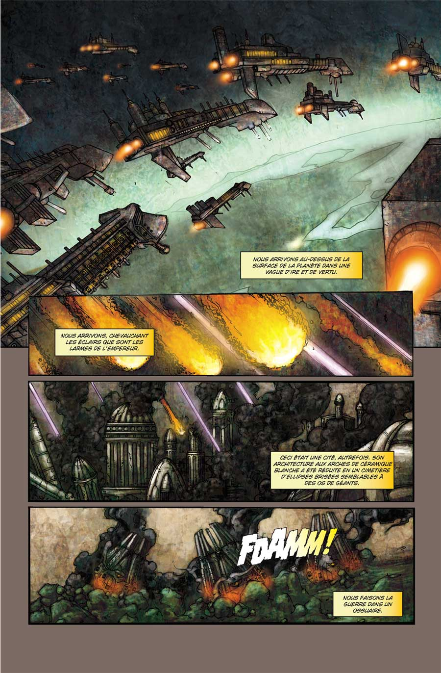 T2 : La bataille de Carrion Gulf page 1