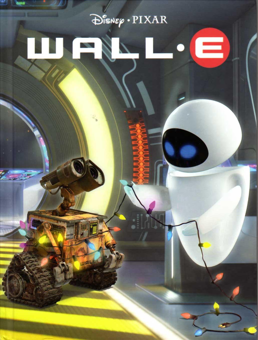 Wall-E (livre pour enfant Hachette 2008) Couverture