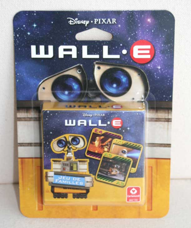 Jeu de familles Wall-E (Cartamundi 2008) packaging