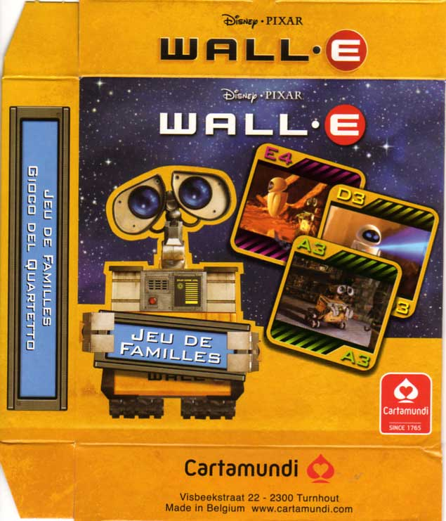 Jeu de familles Wall-E (Cartamundi 2008) boite