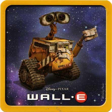 Jeu de familles Wall-E (Cartamundi 2008) dos de la carte