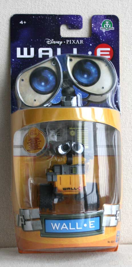 wall e action figurine wall e 2008. Black Bedroom Furniture Sets. Home Design Ideas